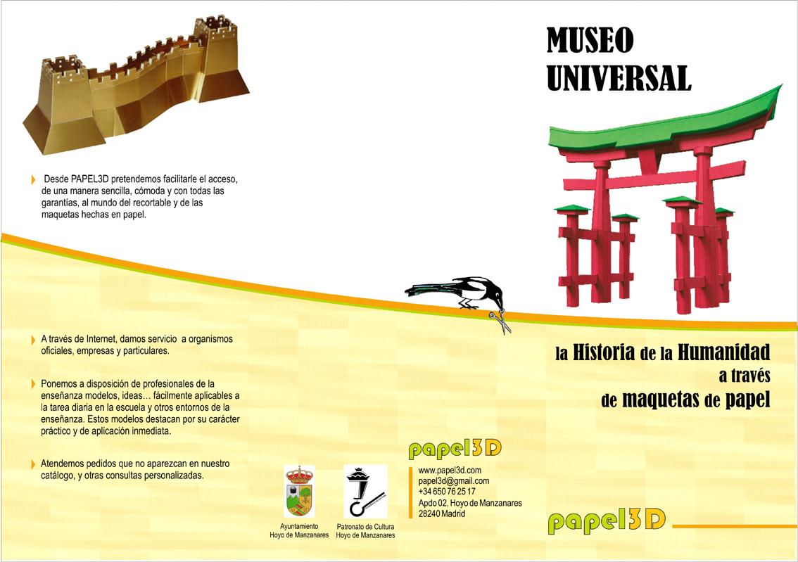 Museo Universal, una exposición sobre la Historia de la Humanidad