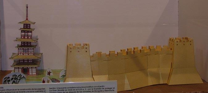Gran Muralla y Pagoda