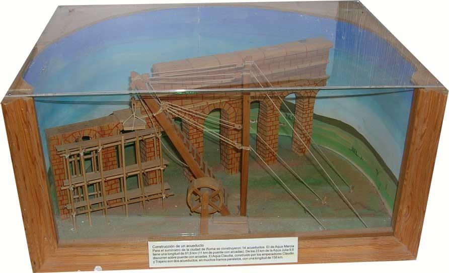 Construcción de un acueducto