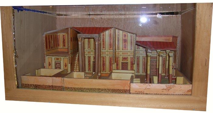 Grecia y roma papel3d Casas griegas antiguas