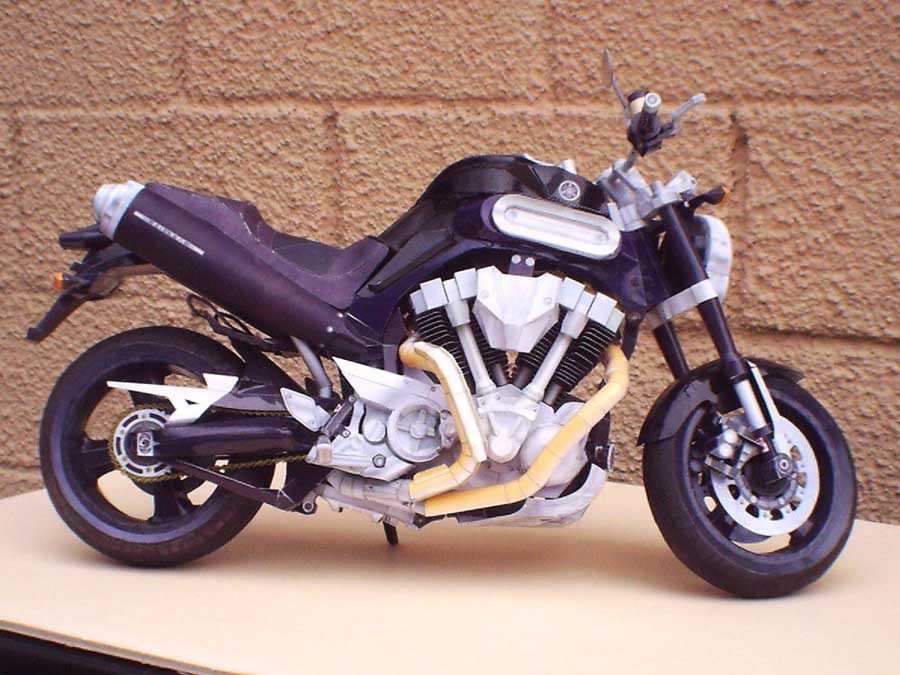 Yamaha MT-01, 1:200